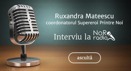 Interviu radio NoRo Ruxandra Mateescu