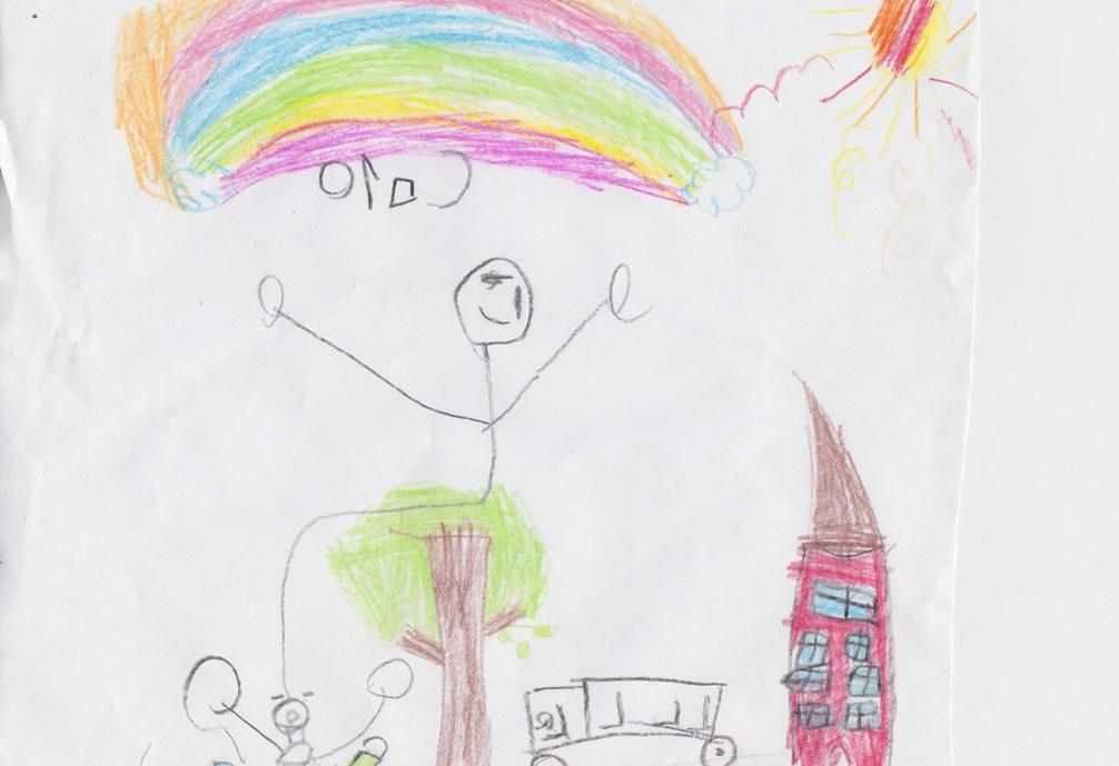 Desen realizat de copii