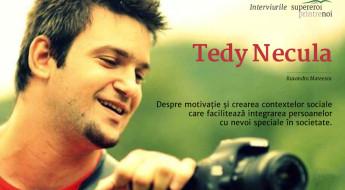 Tedy Necula filmând