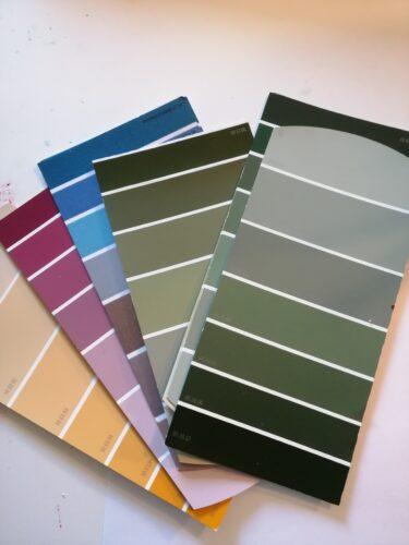 mostrare de culoare